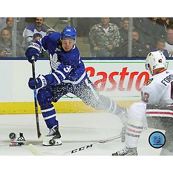 Auston Matthews 2017-18 Action Photo Print