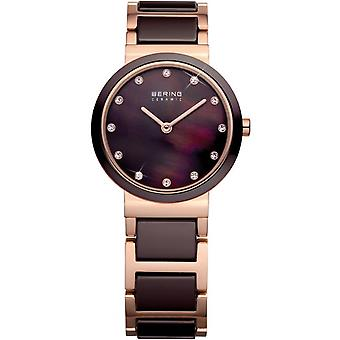 Bering ladies watch wristwatch slim ceramic - 10729-765