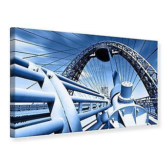 Lona impresión Avantgarde suspensión puente
