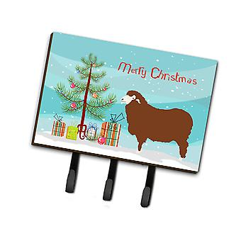 Carolines Treasures  BB9348TH68 Merino Sheep Christmas Leash or Key Holder