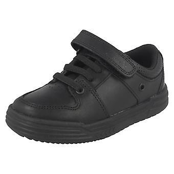 Школа для мальчиков Clarks обувь Чад слайд