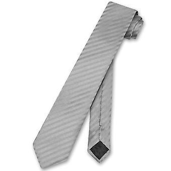 Vesuvio Napoli Krawatte vertikale Streifen dünn 2,5