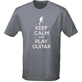 Keep Calm And Play Guitar Mens T-Shirt 10 Colours (S-3XL) by swagwear