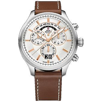 Swiss military mens watch chronograph 29004ST-222L / SM34038. 07