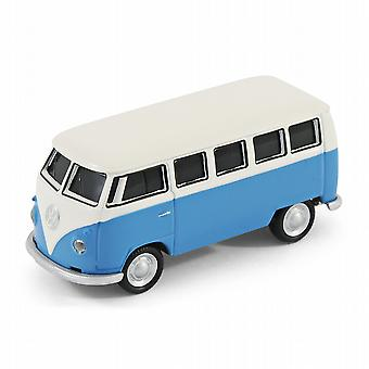 VW Camper Van Bus USB Memory Stick 16Gb - blå