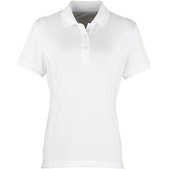 Premier Ladies Coolchecker Pique Polo Shirt