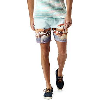 Craghoppers Mens Northbeach Patterned Beach Quick Dry Swim Shorts