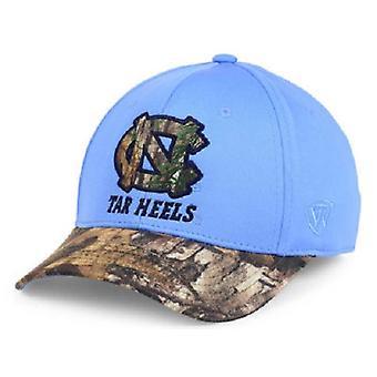 North Carolina Tar Heels NCAA TOW Region Camo Stretch Fitted Hat