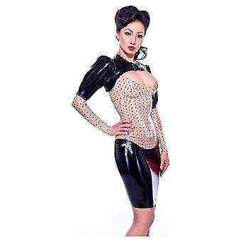 Westward Bound Anhedonia Latex Rubber Corset Latex Rubber Skirt