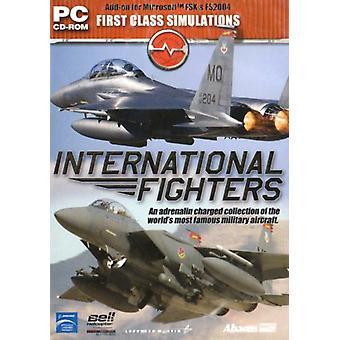 Internationale strijders Add-On voor FS 2004 FSX (PC CD)