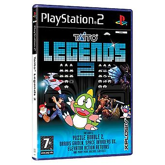 Taito Legends 2 (PS2) - Factory Sealed
