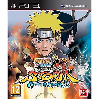Naruto Shippuden Ultimate Ninja Storm - Generationen (PS3)