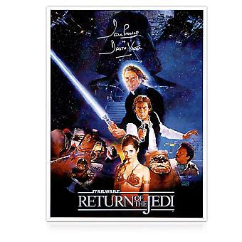 Darth Vader ondertekend Return Of The Jedi-Poster