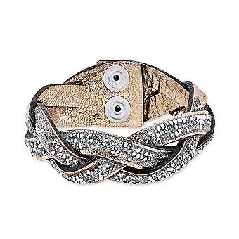s.Oliver Jewel Damen Armband Messing Leder SOAKT/157