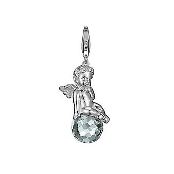 ESPRIT pendant of charms silver sweet Angel grey ESZZ90608A000