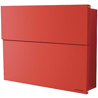 RADIUS letterbox Letterman XXL 2 red with concealed newspaper specialist 562r