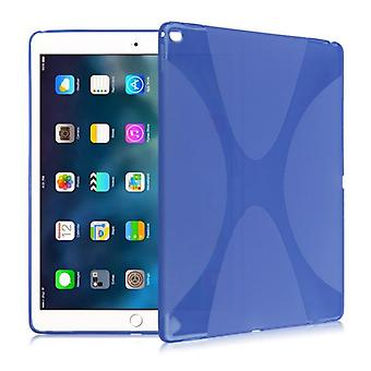 Schutzhülle Silikon X-Line Serie Blau Hülle für iPad Pro 10.5 2017 Tasche