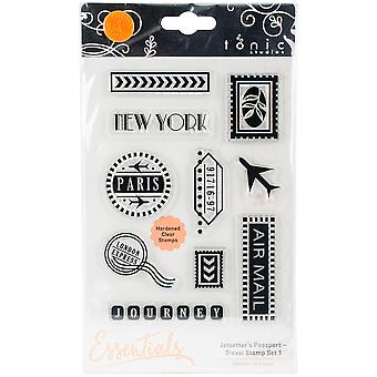 Tonic Studios Clear Stamps-Travel Set 1