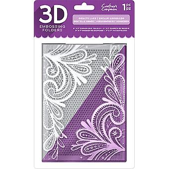 Crafter's Companion 3D Embossing Folder 5