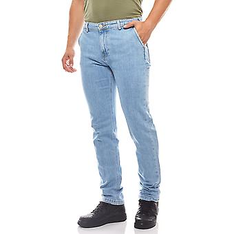 Lee men's Chino Arvin Chino Blau trousers jeans style