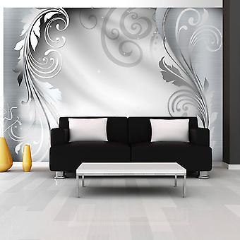 Papel de parede - ornamento de prata