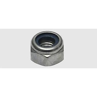 SWG Locknut M8 DIN 985 Stainless steel A2 75 pc(s)