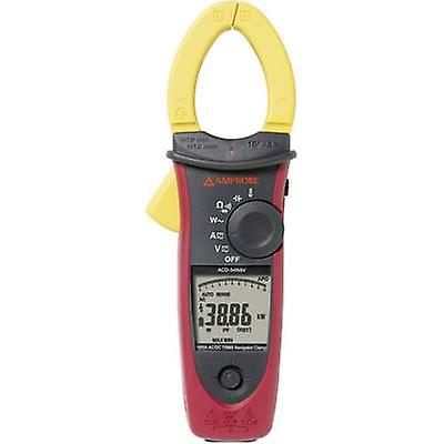 Beha Amprobe ACDC-54NAV Clamp meter, Handheld multimeter Digital Calibrated to  Manufacturers standards (no certificate) CAT III 1000 V, CAT IV 600 V Display
