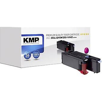 KMP Toner cartridge replaced Dell 593-11142 Compatible Magenta 1400 pages D-T81M