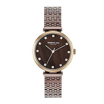 Kenneth Cole New York vrouwen pols horloge analoog kwarts roestvrijstaal KC50256005