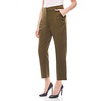 sheego ladies Chinohose summer trousers olive