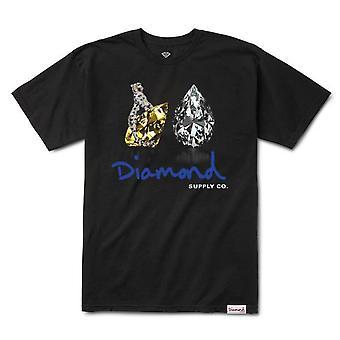Diamond Supply Co Tiger S/S T-shirt Black