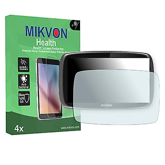 TomTom Go 6100 World Screen Protector - Mikvon Health (Retail Package with accessories)