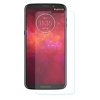 Motorola Moto Z3 play tank protection protection glass armoured glass film real 9 H glass tempered glass