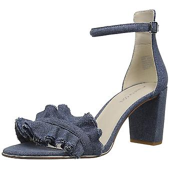 Kenneth Cole New York Women's Langley Ankle Ruffle Detail on Front Strap Heel...