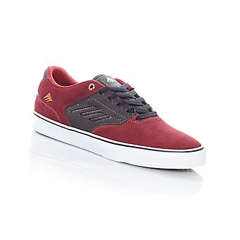 Emerica Red-Grey The Reynolds Low Vulc Shoe