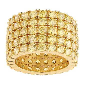 Iced Out Bling Micro Pave Ring - FAT 360 ETERNITY gold