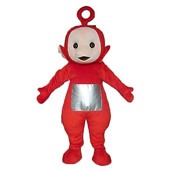 mascot SPOTSOUND of Po the famous red cartoon Teletubbies
