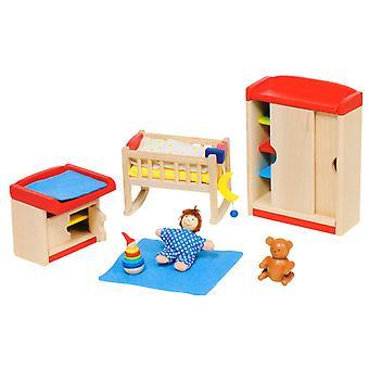 Meubles de bébé pour maison de poupées