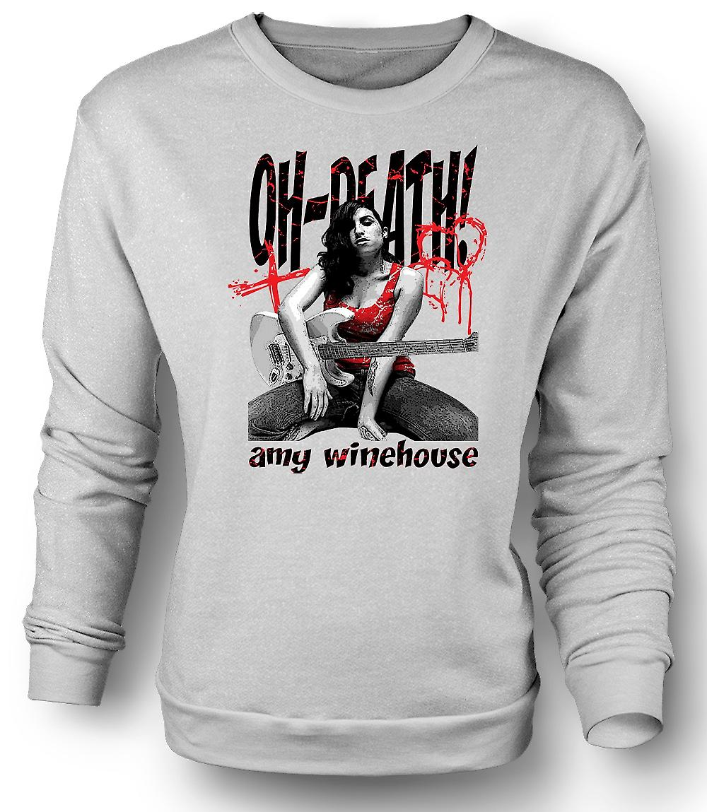 Herren Sweatshirt Amy Winehouse - Ach Tod