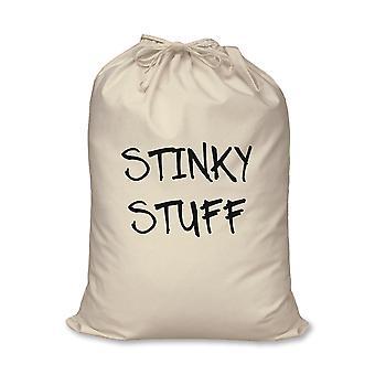 Laundry Bag Stinky Stuff 100% Natural Cotton