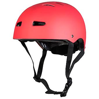 Sushi Matt Red Multisport Skateboard Helm