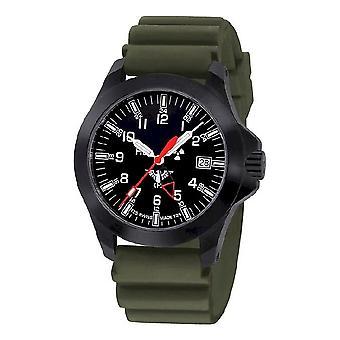 KHS watches mens watch black platoon GMT LDR KHS. BPGLDR. DO