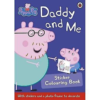 Peppa Pig: Papa en mij Sticker kleurboek