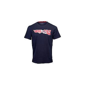 Угадай флота разорвал логотип T-shirt