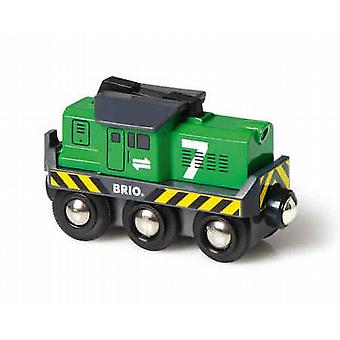 BRIO Freight Battery Engine 33214