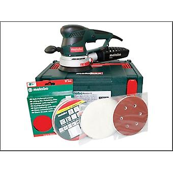 Metabo SXE-450 150mm Variable Speed Dual Orbit Sander Pro Pack 350 Watt 110 Volt