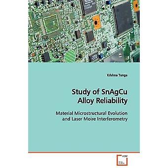 Studie van SnAgCu legering betrouwbaarheid door Tunga & Krishna