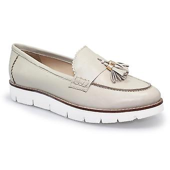 Lunar Levato Leather Wedge Moccasin