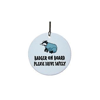 Badger On Board Car Air Freshener