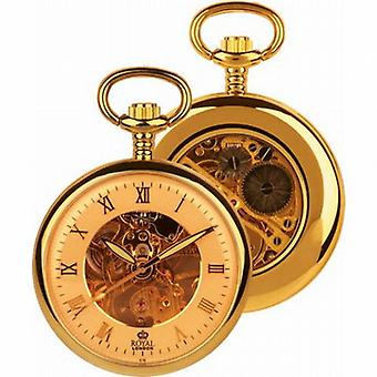 Royal London mechanische Champagne Herren Pocket Watch 90002-03